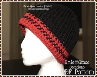 Crochet Hat Pattern - DANIEL Adult - 501