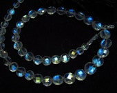 Awesome - AAAAAA - High Quality So Gorgeous - Rainbow Moonstone Faceted Coin Briolett Full Blue Fire Clean size 4 - 6 mm - 25 pcs Sparkling
