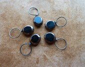 Black and Gold Stitch Markers