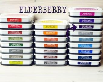 Large MEMENTO  raised dye ink pad ELDERBERRY