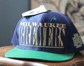 Vintage 90's Brewers Hat