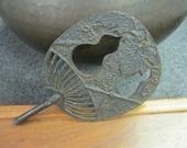 Antique Japanese Metal Fan