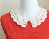 PDF Peter Pan Collar Crochet Pattern