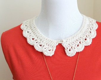 PDF Peter Pan Collar Crochet Pattern