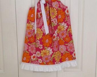 Citrus Flower Dress by Cheryl's Bowtique  / 2014-15 Collection