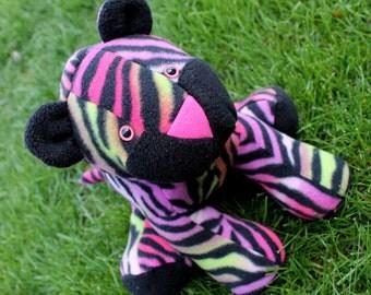 Colorful Plush Tiger
