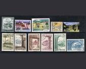 51  Postage Stamps - Farm House Architecture - Village