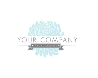 Photography Logo & Watermark - Pre-made for Photographer - Soft Flower