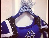 EIGHT or more custom painted hangers for CHEER squads and competitions, DANCE teams, pom squads, or drill teams