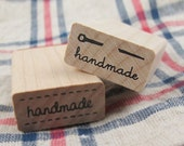 Handmade Stamp - Needle (1 x 0.5in)