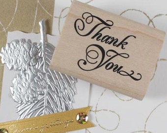 Thank You Elegance Stamp (1.6 x 1.2in)