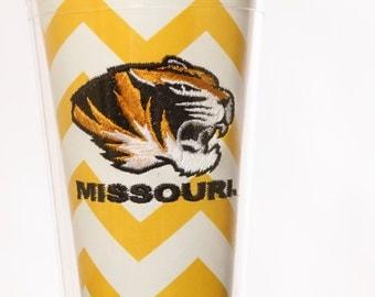 16 oz Mizzou cup