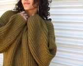 1990s sweater // amazing oversize Gitano sweater