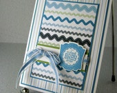 New Baby Card Boy Handmade Congratulations to the New Parents New Arrival Cutest Baby Ever Sweet New Boy