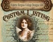 Custom Listing for Stefanie  Photo Album Mini Brag Books