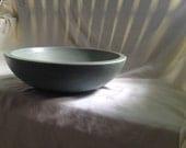 Subtle Gray/Blue Concrete Bowl - Tres Grande