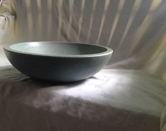 Subtle Gray/Blue Concrete Bowl - Tres Grande