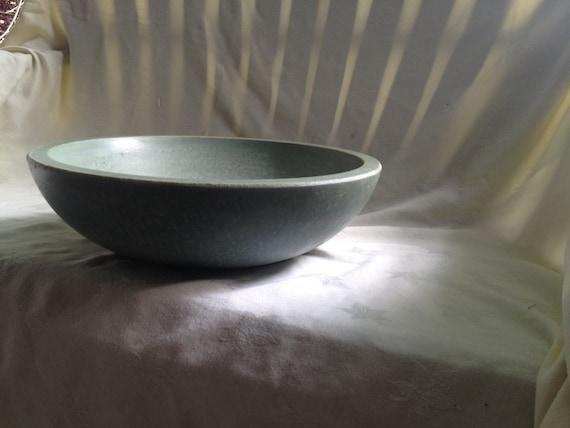 Light Gray Concrete Bowl - Tres Grande