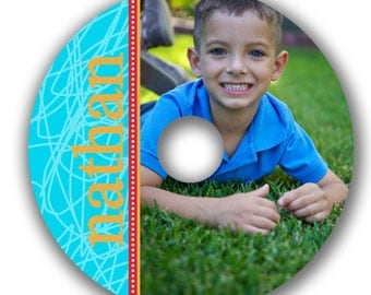 INSTANT DOWNLOAD -  Cd/DVD Label Photoshop template - 0537