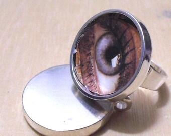 ON    SALE 10 pcs silver tone circular Adjustable Blank tray Ring
