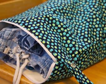Wet Bag -  Blue Gender Neutral - Dry Bag