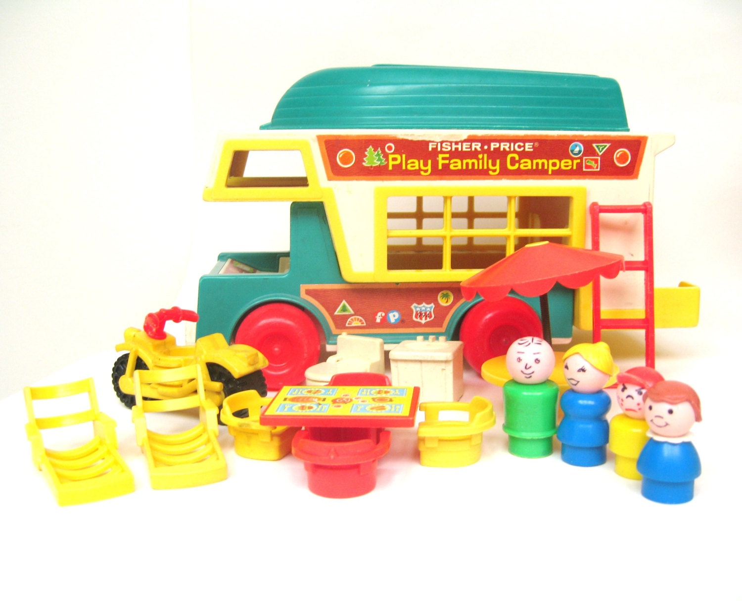 Vintage Fisher Price Camper Set