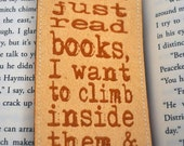 3 Bookmarks of your choice, Buy 3 and save, Custom Bookmark, Personalized Bookmark, Unique Bookmark, Fabric Bookmark, Bookmark Favors, Quote