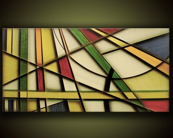 Geometrical Abstraction, Modern Contemporary Art, Abstract Art by Artist Justin Strom