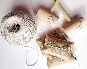 RESERVED. Unique Wedding Favors. Old bay spice and crab mallets. Personalized.