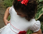 Alouette Smocked pattern - Ellie Inspired Girl Dress PDF Pattern - sizes 1-5