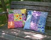 Wildflower Throw Pillows Set of 2