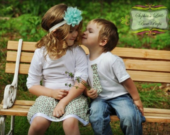 Adorable Made to Match Sibling Set