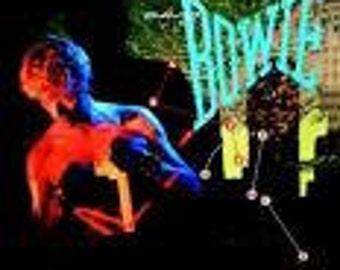 David Bowie vinyl record -  Lets Dance - Original Pressing  - Vintage record lp in Near Mint  Condition