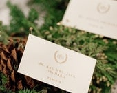 The Laurel Collection Place Cards - Set of 100 - Any Color, Place Cards for Weddings, Parties, Events and more by Abigail Christine Design