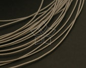 WR-015-GY / 10 m - Silky Cord 1mm (GRAY) for Necklace and Knot Bracelet / 1mm