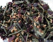 BlueNilla Berry Genmaicha Tea - 16 servings