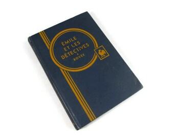 French Child's Detective Book: Émile et Les Détectives by Erich Kästner, 1936