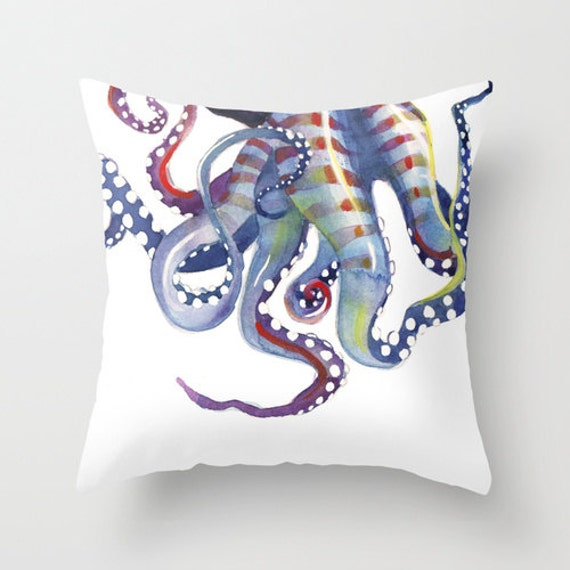 Sea Monster: pillow cover, octopus tentacles