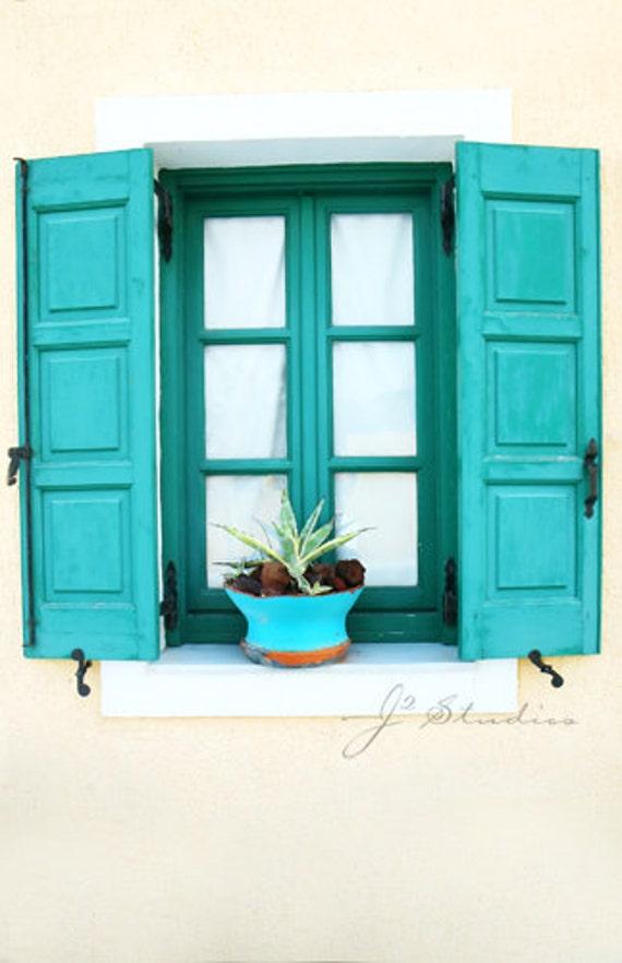 Custom Order for Stephanie - 12x18 Print - Aquamarine Window