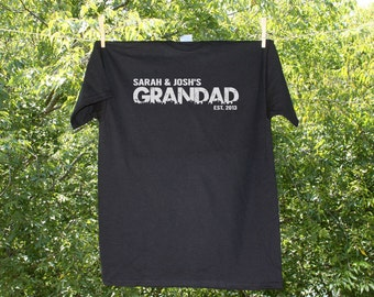 DAD or GRANDPA Personalized - Father's Day Shirt