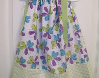 Floral Print Pillowcase style dress or top