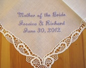 Exquisite Monogrammed Handkerchiefs And Linens By