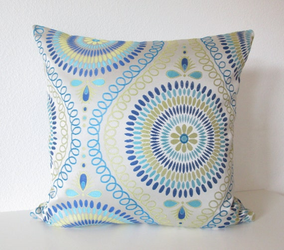 Silver Blue Decorative Pillows : CraftLaunch Site Inactive