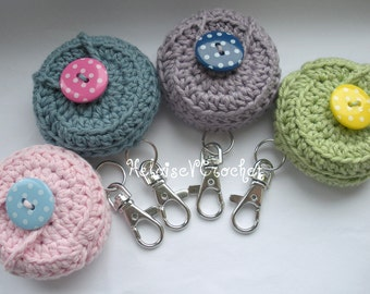 Crochet Vaseline Pattern - Vaseline case keychain - instant digital download
