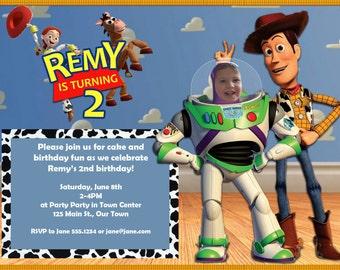 Toy Story birthday invite