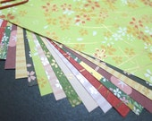 Beautiful Yuzen Paper Pack - Spring (L) for Traditional Japanese Origami Paper Project- 20 sheets