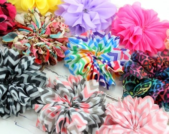 Set of 8-Blossom Flower-You Choose Color (Check Stock List Below)