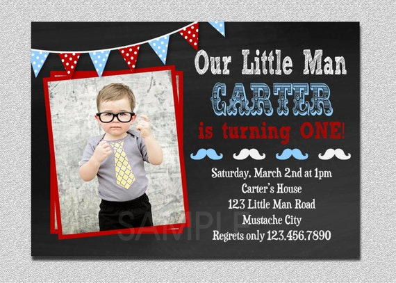 Little man invitation little man birthday invitation little man il570xn filmwisefo