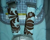 Car seat strap covers - reversible (Its a boy - demask)