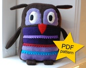 Impy the Owl PDF Pattern